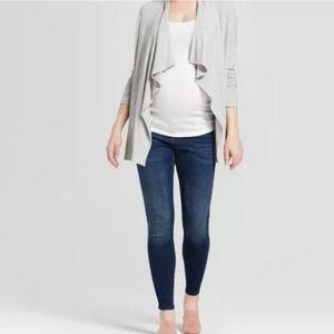 Isabel Dark Wash Maternity Skinny Jeans